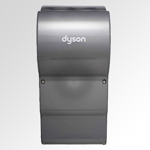 Hands in Dyson Airblade Hand Dryers